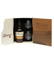 The Irishman Single Malt 10 ans Coffret + 2 Verres