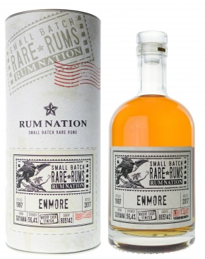 Rum Nation - Small Batch Rare Rums - Enmore Vintage 1997 Whisky Cask Finish
