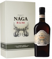 Gift pack Naga rum with 2 glass