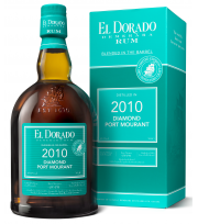 El Dorado Rum - Diamond - Port Mourant Millesime 2010